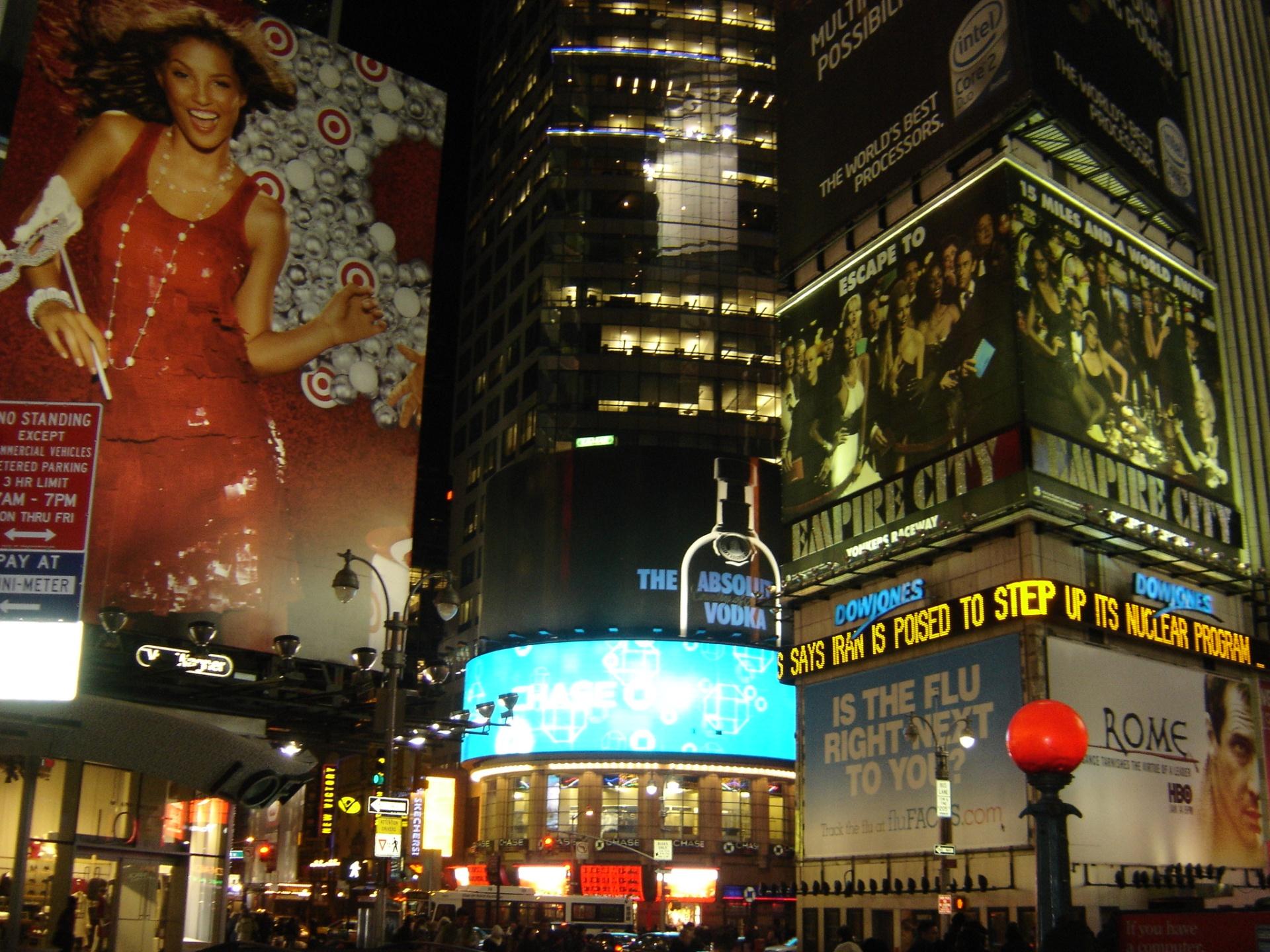 Times Square de noche (New York)