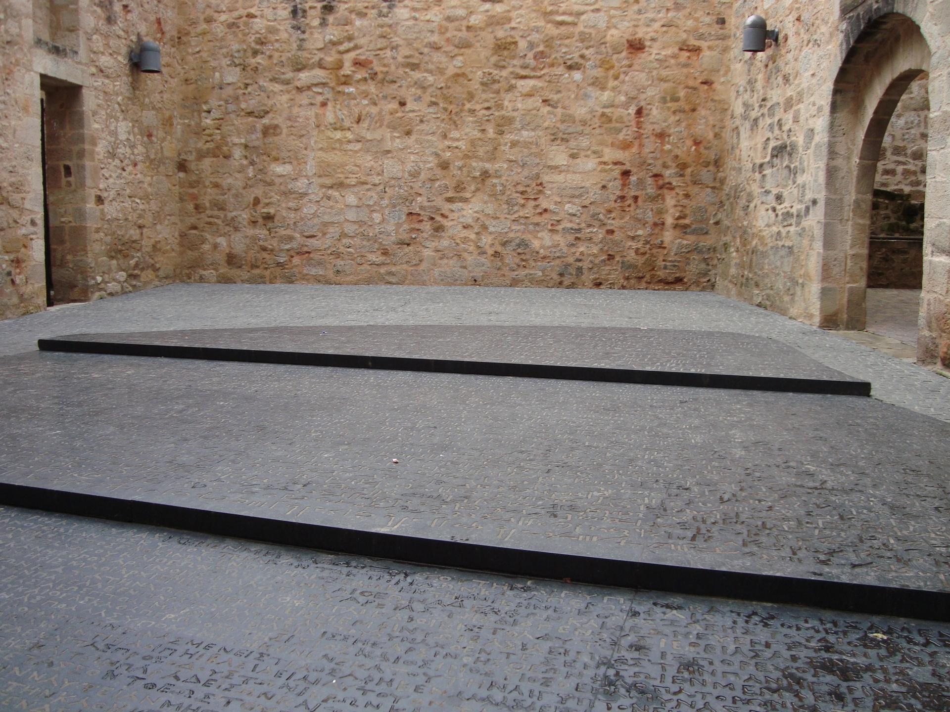 Plaza de la Piedra Rosetta