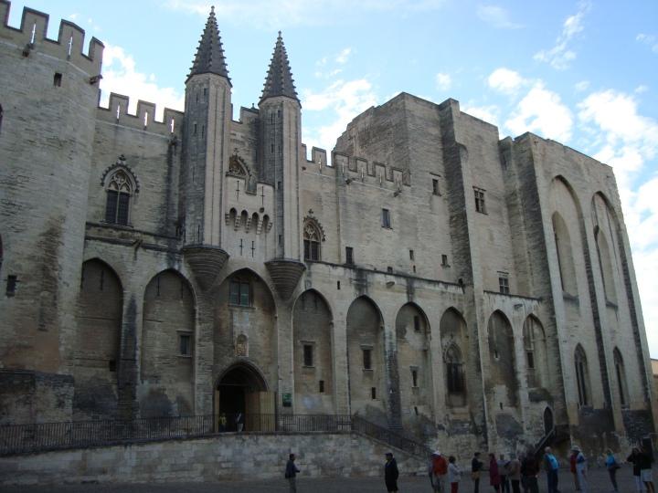 Palais des Papes, el palacio gótico más grand del mundo