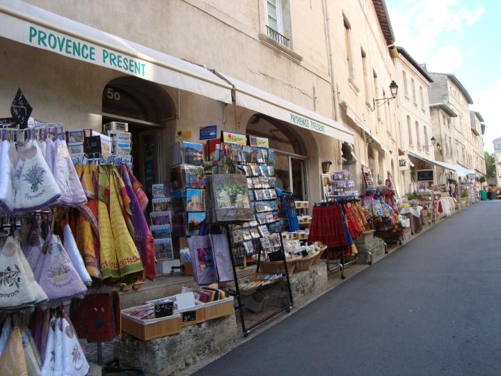 Tiendas de souvenirs de la Provence