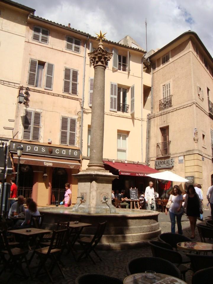 Centro antiguo de Aix-en-Provence