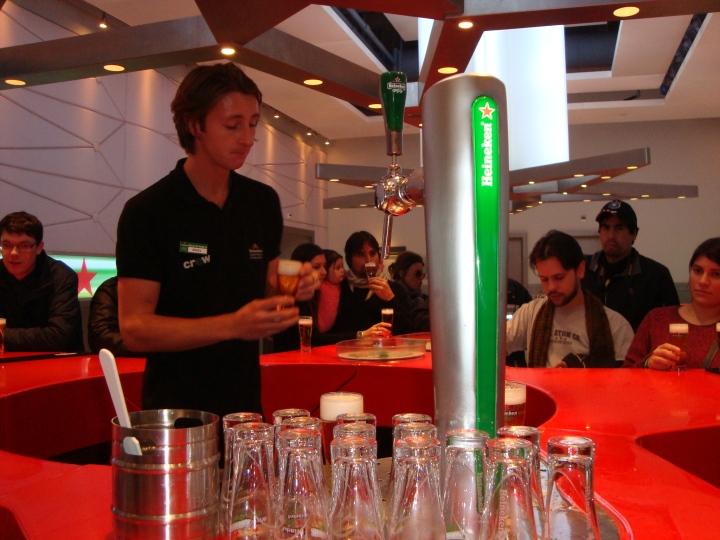 Heineken Experience - Degustación