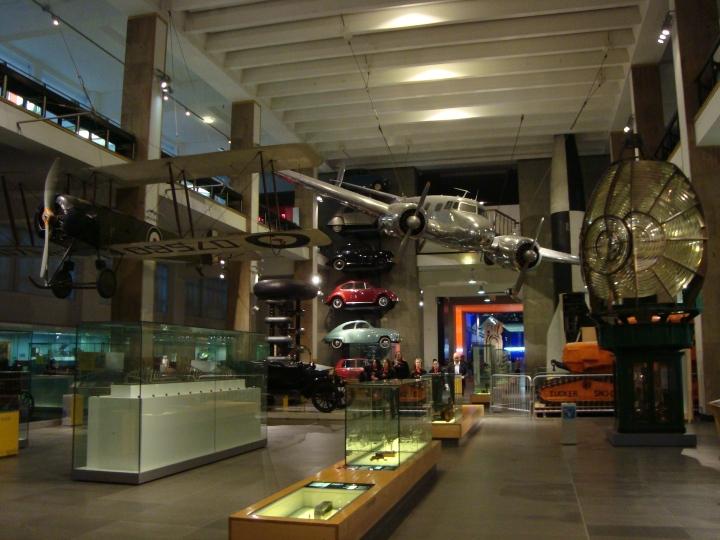 Entrada al Science Museum